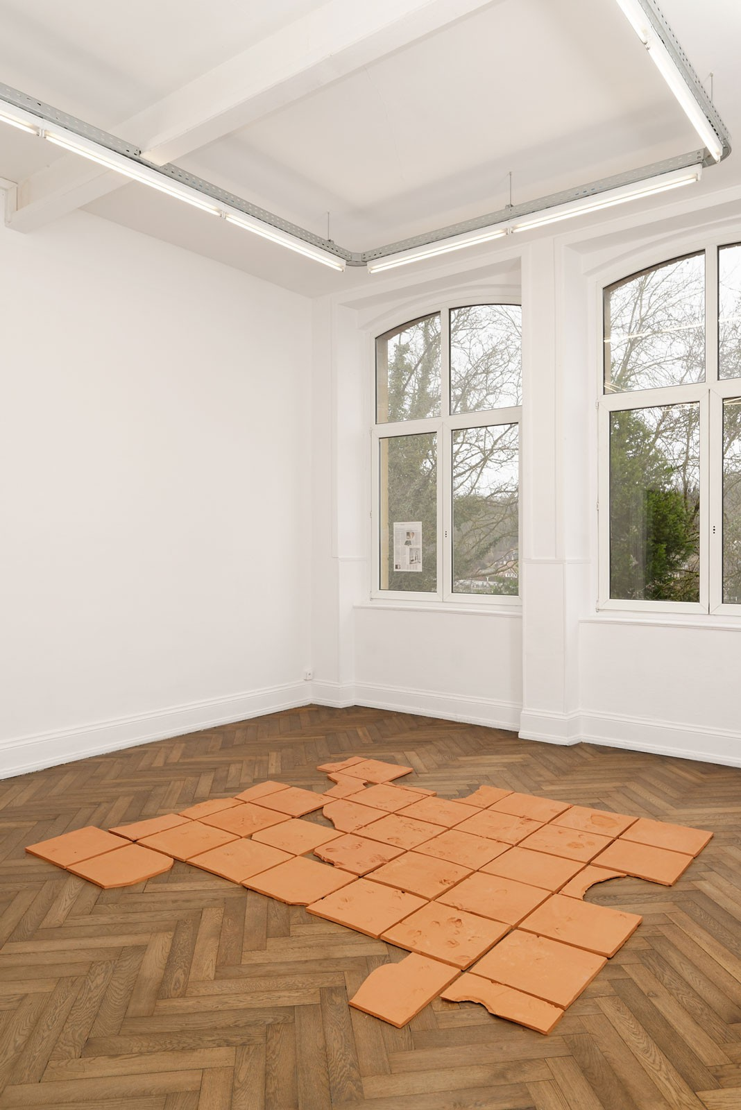 Jorge Satorre Wrecking The Floor Tiles